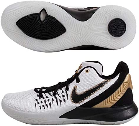 メンズ バスケットボールシューズ カイリーフライトラップIIEP ホワイト/メタリックゴールド/ブラック AO4438 170