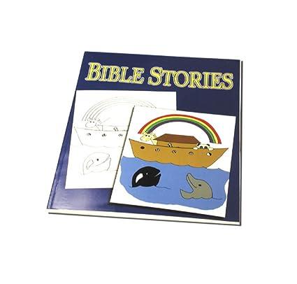 Amazon Com Bible Stories Magic Coloring Book Magic Trick With