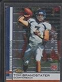 2009 Topps Finest Tom Brandstater Broncos Rookie Football Card #98