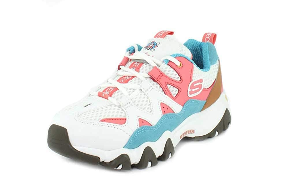 Skechers D´lites 2.0-Tidal Waves One Piece Donna Bianco Bianco Bianco | Fashionable