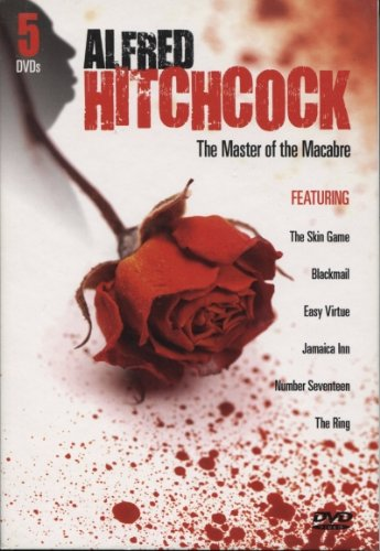 Alfred Hitchcock The Master of the Macabre featuring The Skin Game, Blackmail, Easy Virtue, Jamaica Inn, Number Seventeen, The Ring