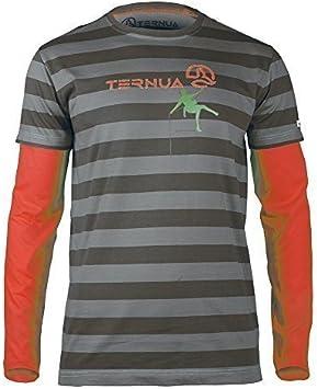 Ternua Hombre Run Fuera Camiseta para escalar / 1205972-8426 ...
