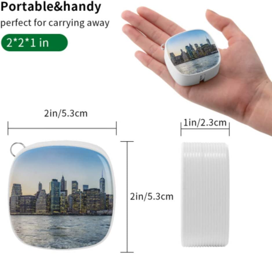Charger USB Cable Beautiful City Skyline View Multi 3 in 1 Retractable Portable Charger USB Cable with Micro USB//Type C Compatible with Cell Phones Tablets and More