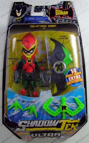 (The Batman Shadow Tek Ultra Tek-attack Robin)