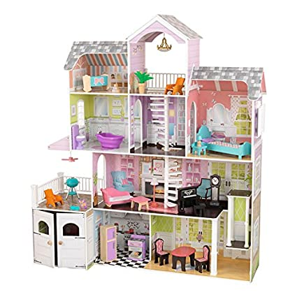 Amazing Amazon.com: KidKraft Grand Estate Dollhouse + 26 Pieces Of Furniture (3+  Years) By KidKraf: Toys U0026 Games