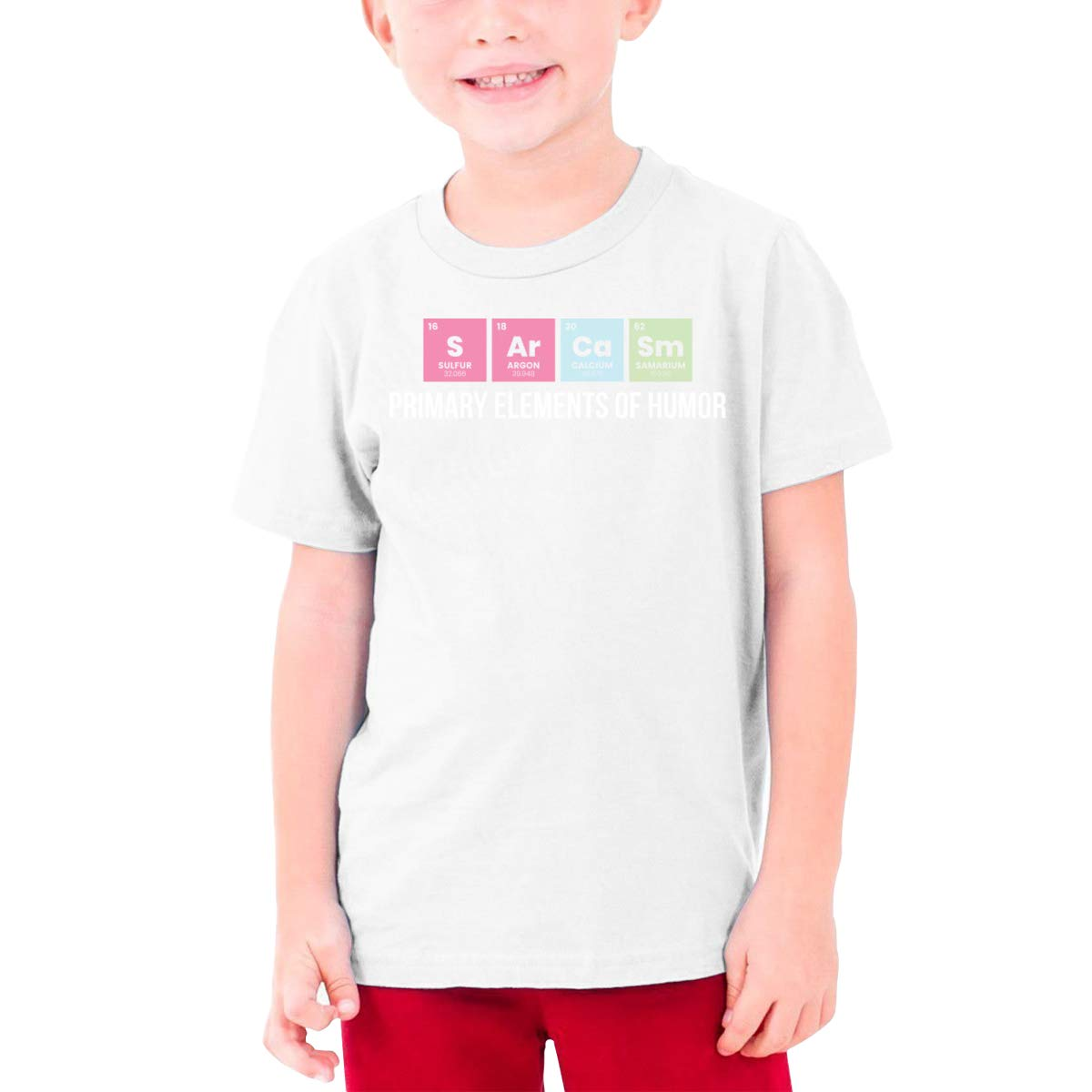 Primary Elements of Humor Boys Short Sleeve Tee