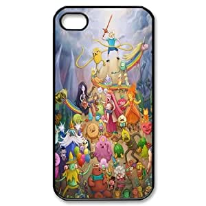 DDOUGS I Adventure Time Cartoon Personalised Cell Phone Case for Iphone 4,4S, Dropship I Adventure Time Cartoon Case
