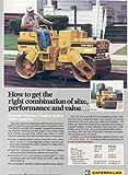 1987 Caterpillar CB224 Vibratory Tandem Road Roller Ad