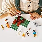 LEGO-Minecraft-L-Avventura-nella-Taiga-con-i-Personaggi-Minecraft-di-Steve-dello-Scheletro-del-Lupo-e-della-Volpe-Set-di-Costruzioni-per-Bambini-7-anni-Appassionati-e-Collezionisti-21162