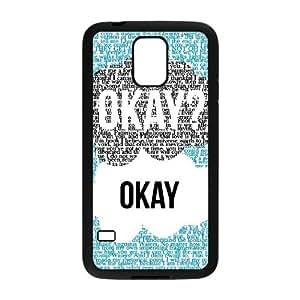 Case Of Okay Okay Customized Case For SamSung Galaxy S5 i9600