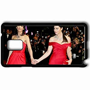 Personalized Samsung Note 4 Cell phone Case/Cover Skin Actress Black hjbrhga1544