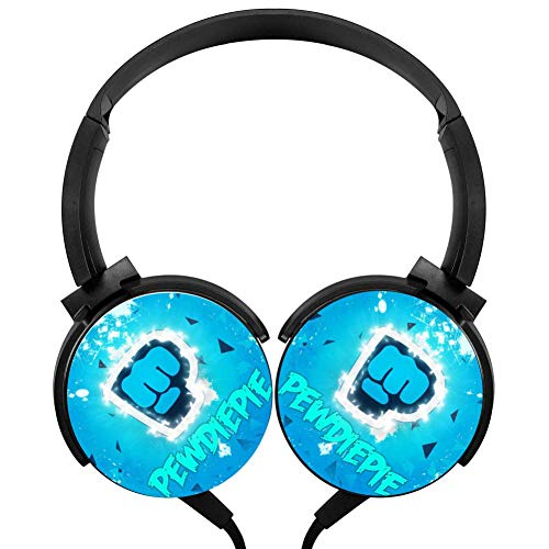 - AMAOZNBSTEER Wired Headphones Headsets PDD ie Logo Foldable Over Ear for Kids or Adults Black