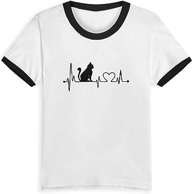 Camiseta de algodón con diseño de Gato de la Reina Elena, con ...