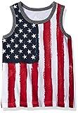 Kyпить The Children's Place Toddler Boys' His Li'l Americana Tank Top, White, 3T на Amazon.com