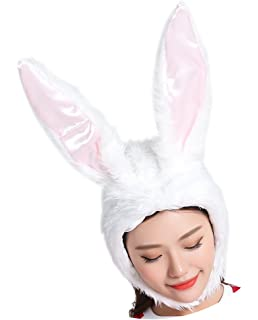 Apparel Accessories 2019 Hot Sell Fashion Moving Hat Rabbit Ears Plush Sweet Cute Airbag Cap 2 Color Can Be Choose Fashionable And Attractive Packages