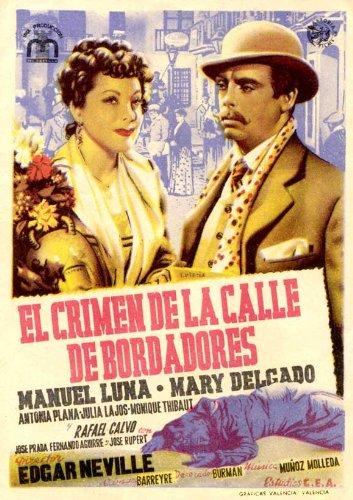 Crimen de la calle de Bordadores, El Poster (11 x 17 Inches - 28cm
