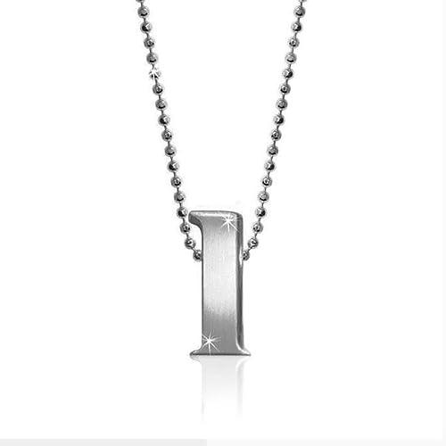 Amazon.com: London Emily Jewelers - Colgante de acero ...