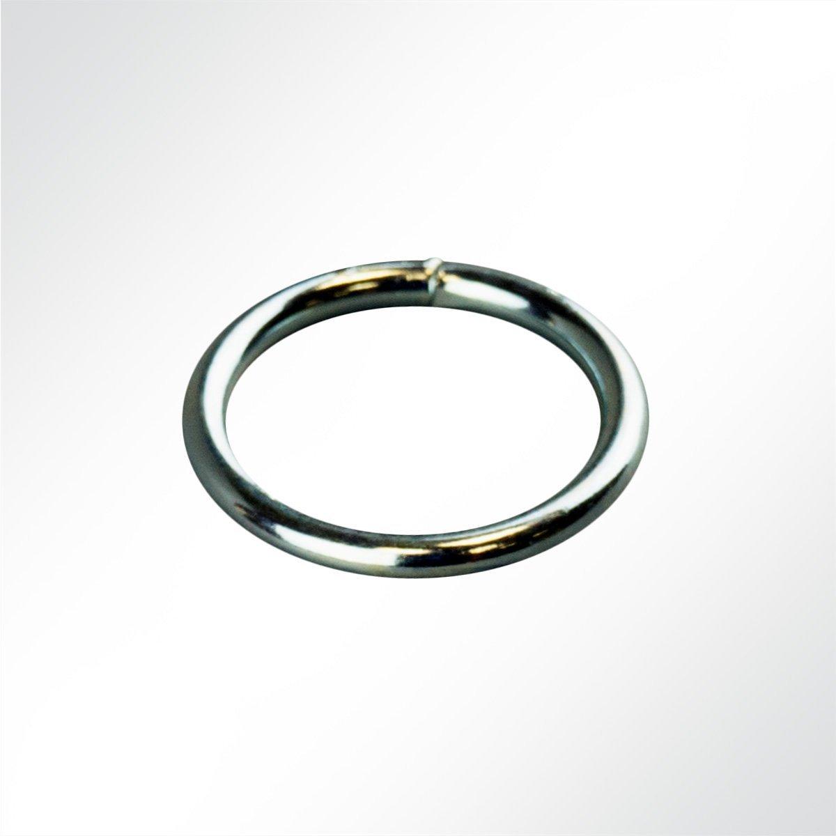 LYSEL® Rundring verzinkt, (D) 16mm in grau (1 Stück)