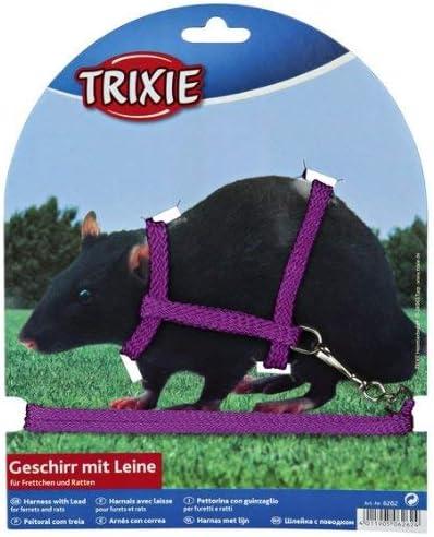 Trixie Nylon arnés con correa para los hurones/ratas, 12 – 25 cm x ...