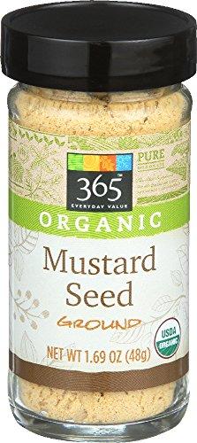 365 Everyday Value, Organic Mustard Seed Ground, 1.69 Ounce