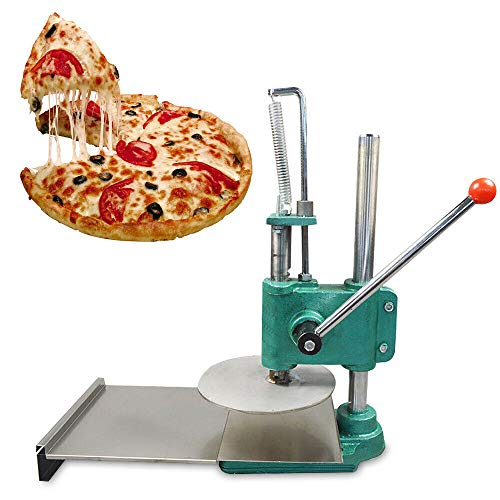 Pizza Pastry Press Machine, Stainless Steel Manual Household Dough Roller Sheeter Pasta Maker for Home, Kitchen & Commercial Use - US Shipping