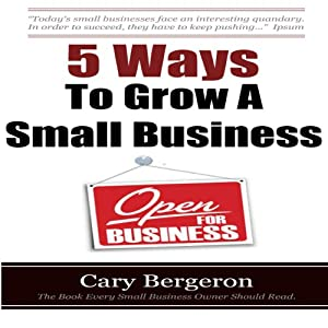 5 Ways to Grow Small Business Audiobook