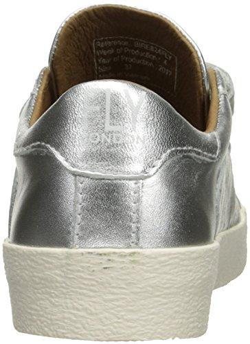 Donna Di Londra Fly Bire824fly Fashion Sneaker Argento / Metallizzato