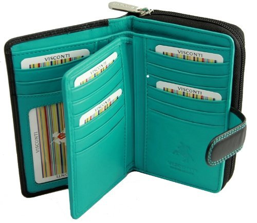 ladies-leather-purse-wallet-cd-22-black-aqua
