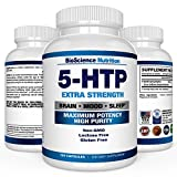 5-HTP 200 mg Supplement - 120 Capsules - BioScienc...