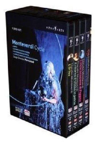 Monteverdi - L'Orfeo, L'Incoronazione di Poppea, Il Ritorno d'Ulisse in Patria, Il Combattimento di Tancredi e Clorinda (Boxset) by Opus Arte