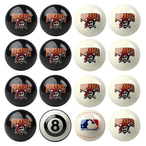 (Pittsburgh Pirates Home vs Away Billiards/Pool Table Ball Set )