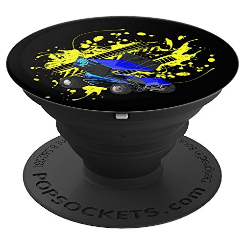 Sprint Car Racing Fan PopSockets Grip Design - PopSockets Grip and Stand for Phones and ()