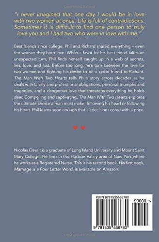 Amazon Com The Man With Two Hearts  Nicolas Osvalt Books