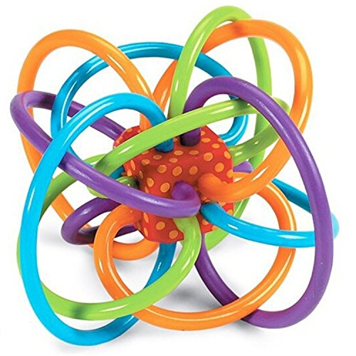 Manhattan Fireplace (Winkel Rattle and Sensory Teether Toy – Baby Toys – Winkel Rattle Toy – Sensory Teether Toy)
