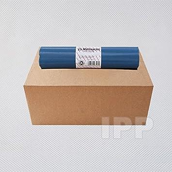 Müllsäcke 120 Liter Typ 60 blau 25 Stück