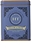 Harney and Sons Yellow and Blue Tea,20 Tea Shachets 0.9oz by Harney & Sons