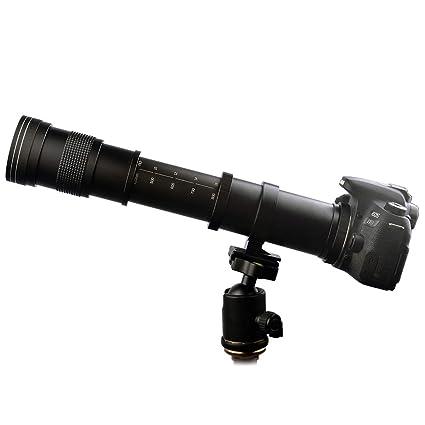 Amazon.com : Lightdow 420-800mm f/8.3 Manual Zoom Super Telephoto