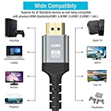 4K 60HZ HDMI Cable 6.6FT,Highwings 18Gbps High