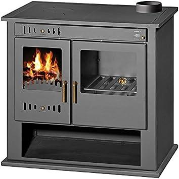 Chimenea de estufa de leña para sistema de calefacción central, horno, cocina, caldera integral, descargador térmico de combustible sólido, 9 Kw Victoria