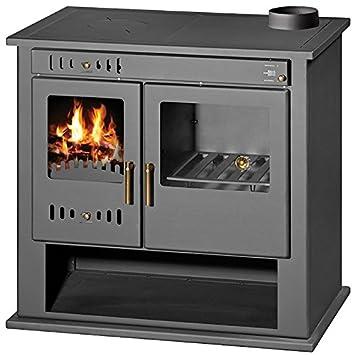 Estufa de leña estufa chimenea para sistema de calefacción central ...