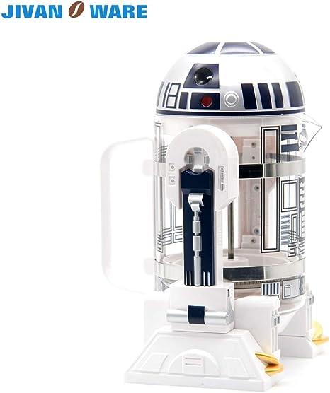 AQANATURE - Cafetera de café con diseño de Star Wars Robot ...