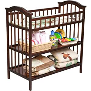 Amazon Com Delta Summit Changing Table Cognac Diaper