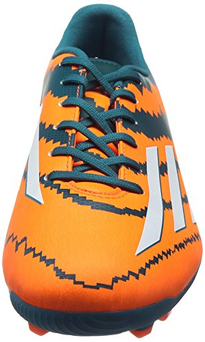 adidas Performance Messi 10.3 AG, Men Football Competition Multicolour (Power Teal F14/Ftwr White/Solar Orange)
