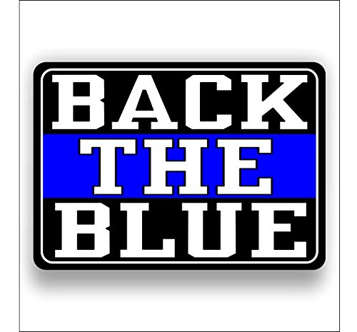 Back the Blue sticker / decal -