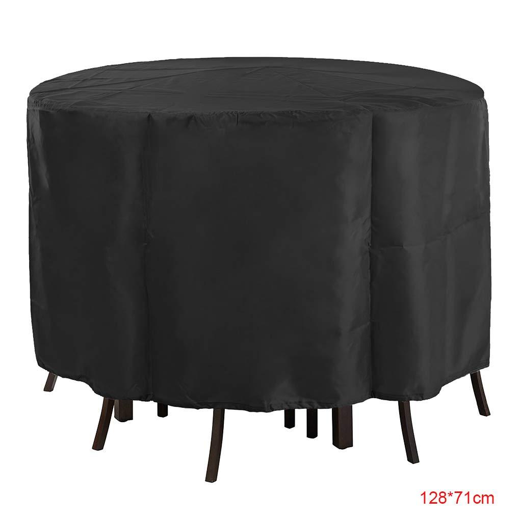 Luckiests Meubles de Jardin Forme Ronde Table Couverture Canap/é Couch Couvre Slipcover Salon ext/érieur /étanche Anti-poussi/ère
