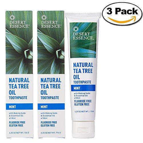 Natural Tea Tree Oil Mint Toothpaste(3pk)- 6.25 oz