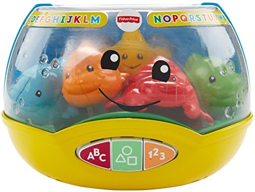 51k6UleE 1L - Fisher-Price Laugh & Learn Magical Lights Fishbowl