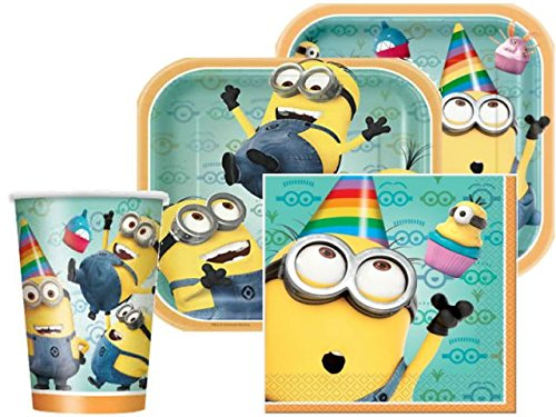 Despicable Me Deluxe Party/Pack For 8-2Pack by BIRTHDAYMANIA