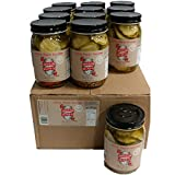 Brooklyn Brine Pickles- Spicy Maple Bourbon -Case Packed 16 Oz. Jars