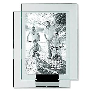 double glass frame floats your photo by sixtrees 4x6 - Double Glass Frame